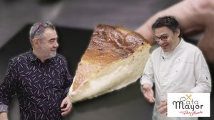 Cata Mayor: Oriol Balaguer prepara su esponjosa tarta de queso.