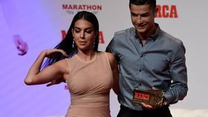 Ronaldo y Georgina Rodríguez