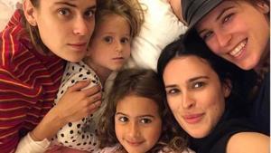 Las hijas de Bruce Willis y Demi Moore.