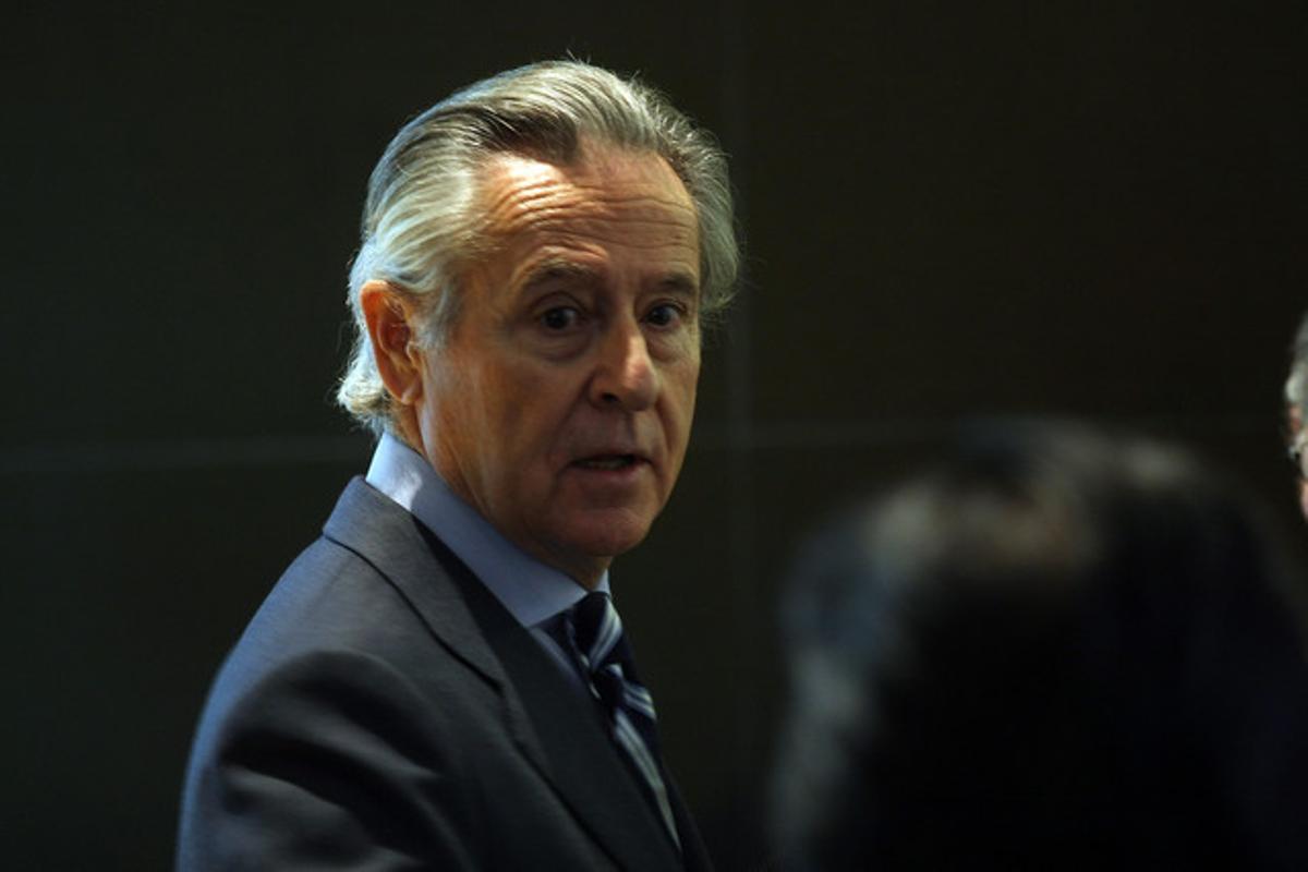 El expresidente de Caja Madrid Miguel Blesa, el pasado noviembre.