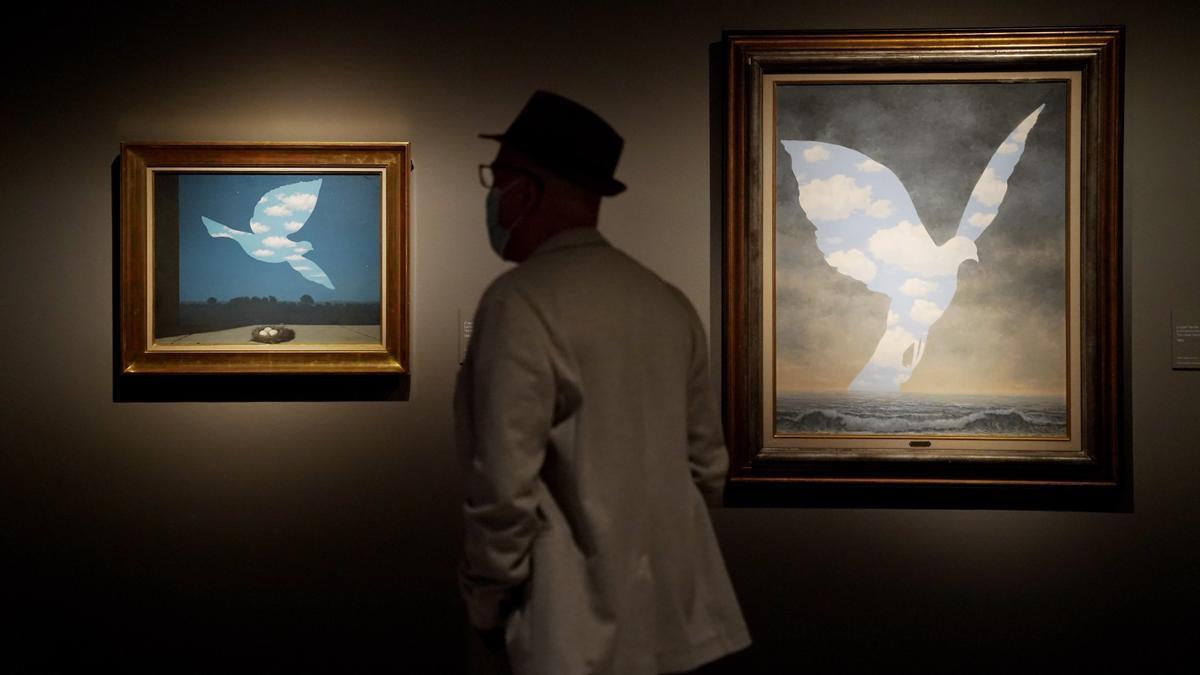 Magritte, más allá del maestro surrealista, en el Museo Thyssen.