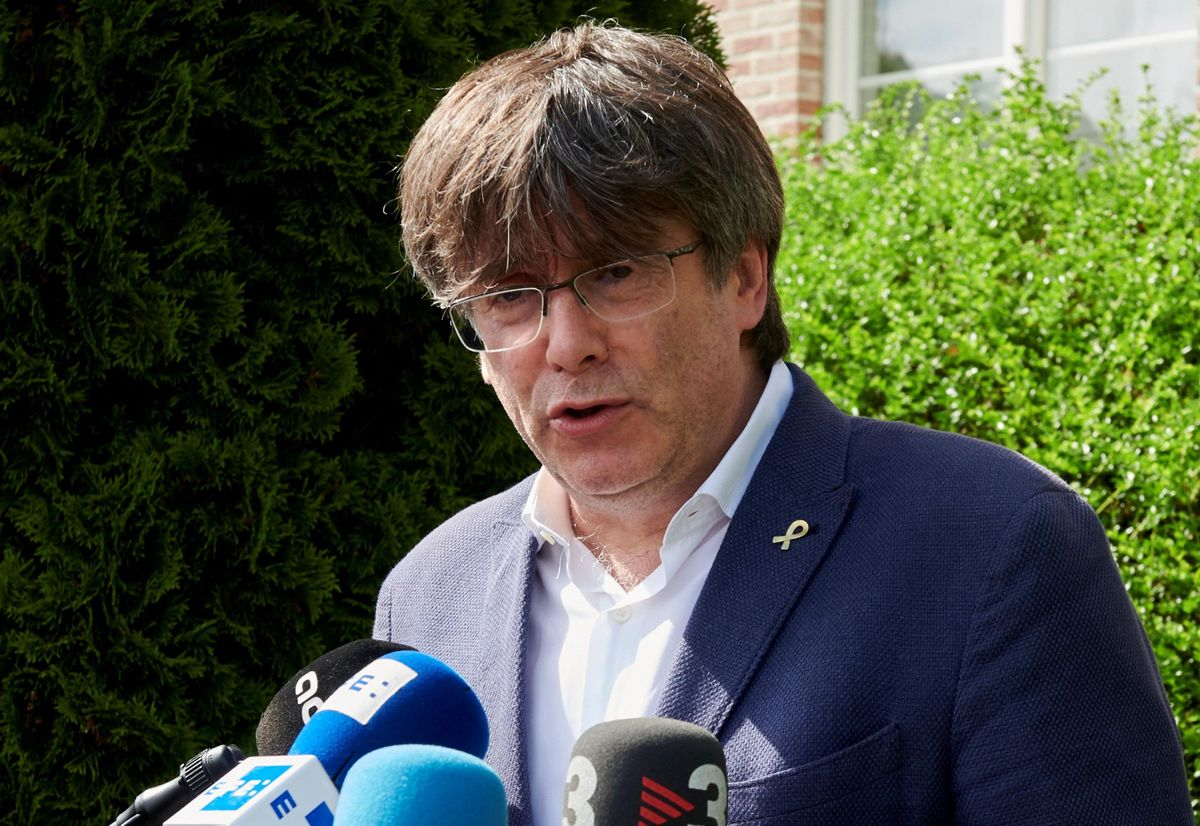 Reunión consellers de Junts per Catalunya y Carles Puigdemont, en Waterloo