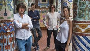 El Quartet Gerhard triomfa al Palau