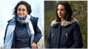 Naiara Fernández y Maria Serra, activistas contra la crisis climática