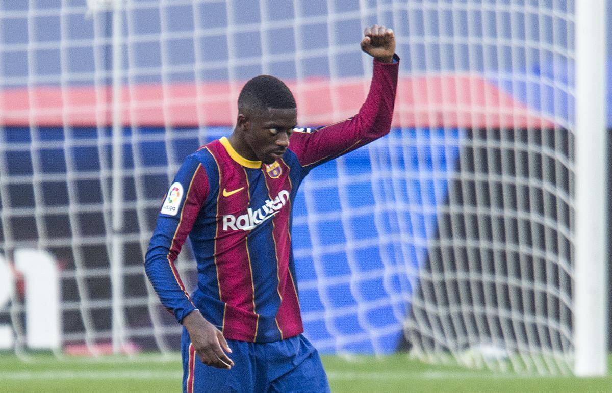 Dembélé reconeix que va arribar fràgil al Barça