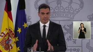 Sánchez anuncia una última pròrroga de l'alarma amb una «governança plena» per a les autonomies