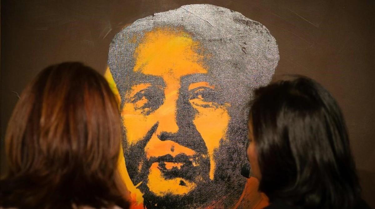El retrato de Mao Zedong realizado por Andy Warhol en 1973.