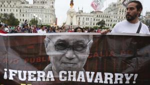 La destitución de los dos fiscales generó una masiva movilización en Lima exigiendo la salida del fiscal de la Nación, Pedro Chávarry.