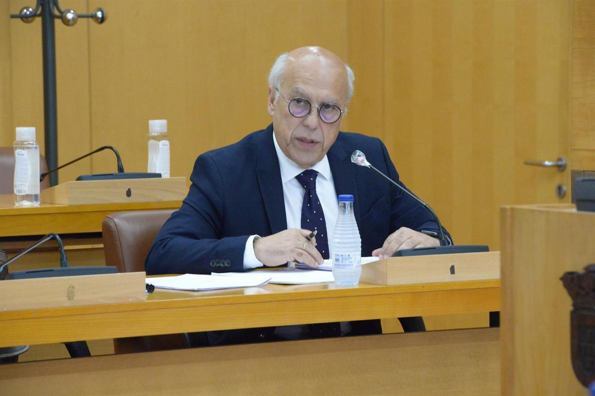 El consejero de Sanidad de Ceuta, Javier Guerrero, en una imagen de archivo.