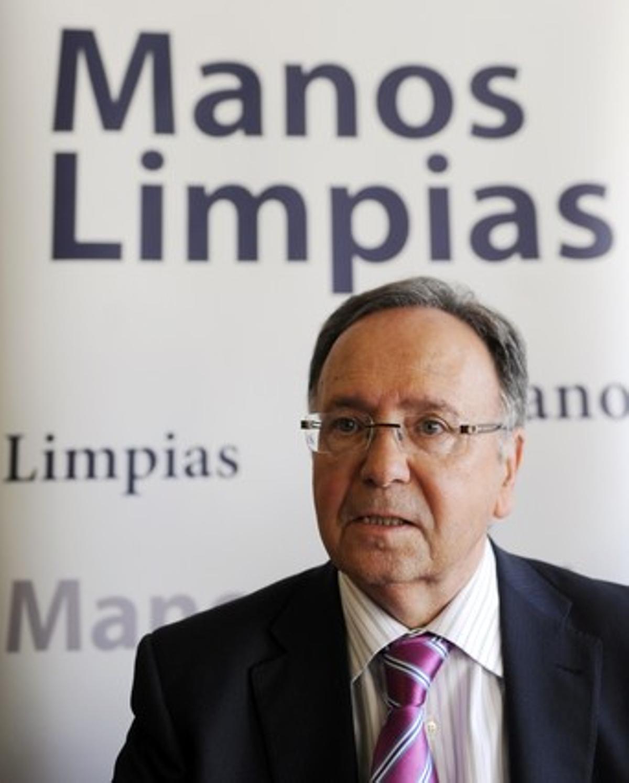 El secretario general del sindicato Manos Limpias, Miguel Bernad.
