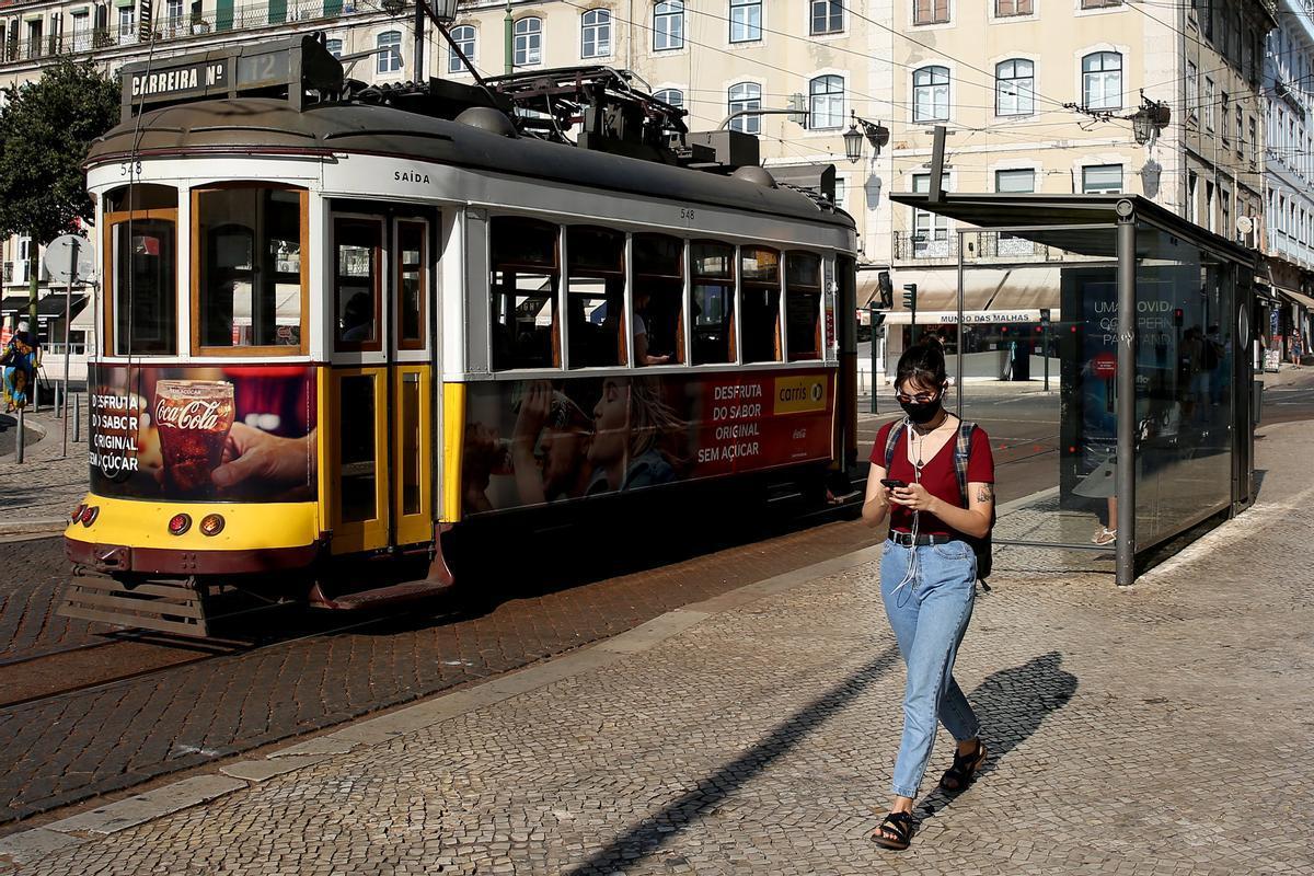 Lisboa vuelve a estar bajo restricciones por el alza de los contagios.