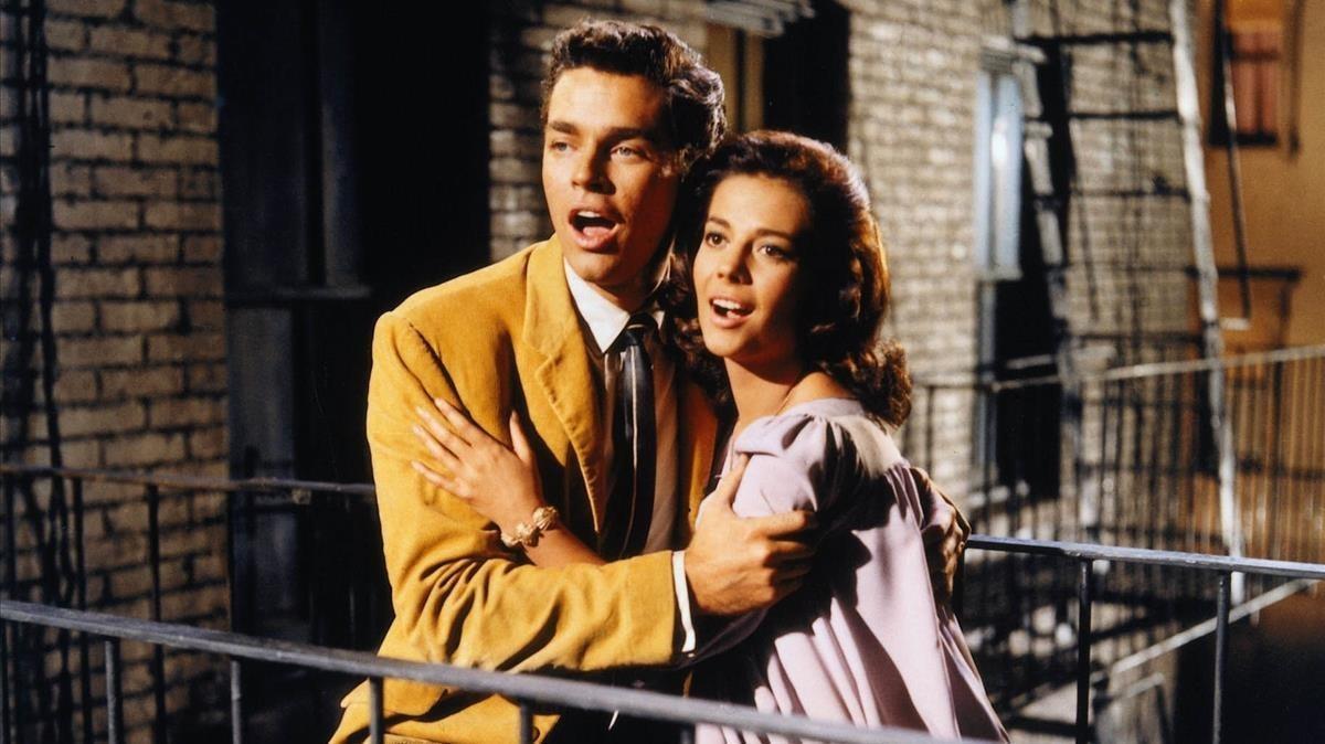 Escena de 'West Side Story', de Bernstein.