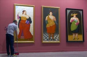 Una exposició de Botero talla XXL