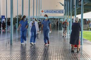Personal sanitario en el Hospital del Mar de Barcelona.