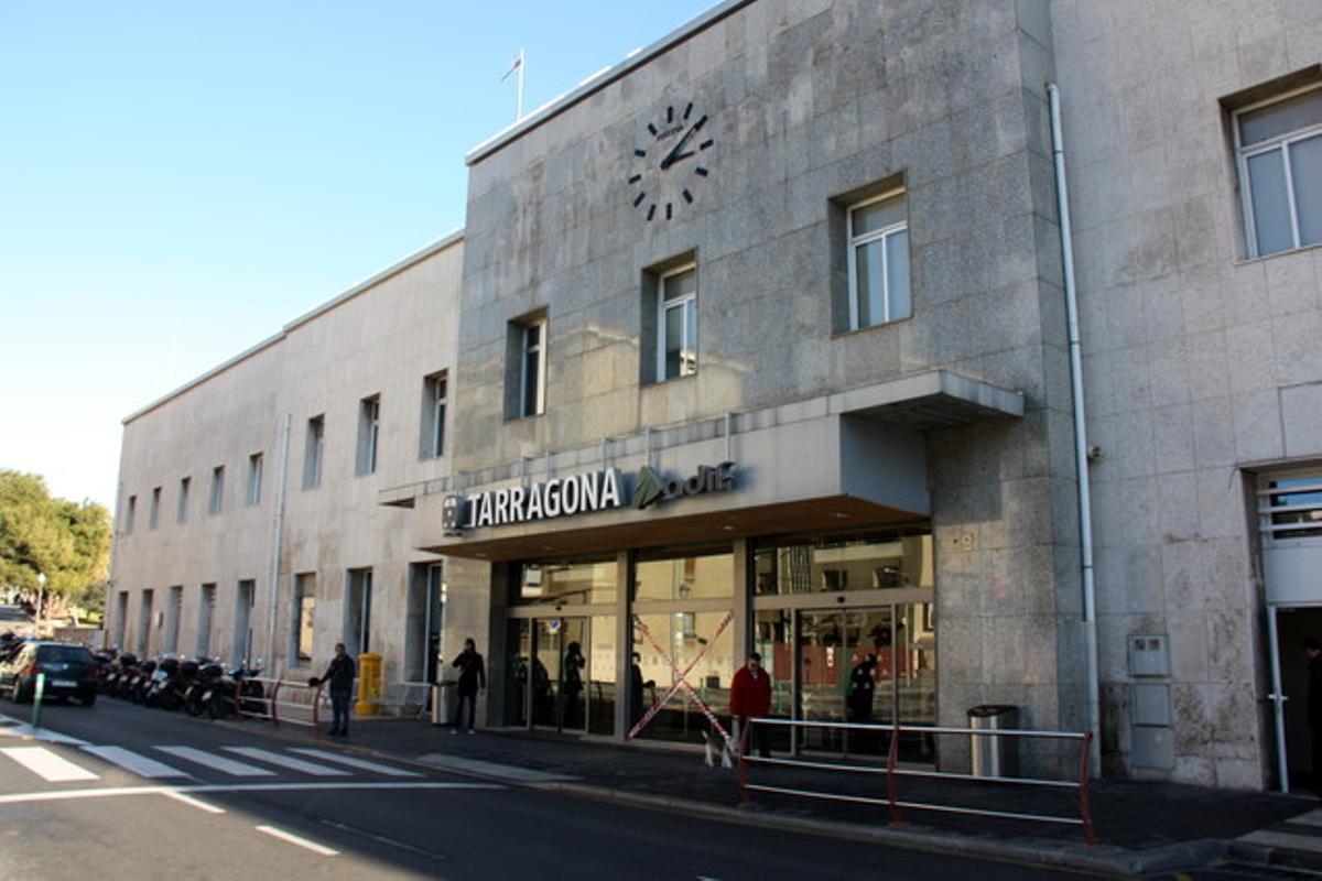 La estación de tren de Tarragona, en una foto de archivo.