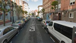 Una imagen del barrio de Vallobín, donde apareció la niña.