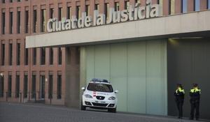 El TSJC rebaixa la vigilància dels Mossos en seus judicials iniciada per les protestes dels CDR