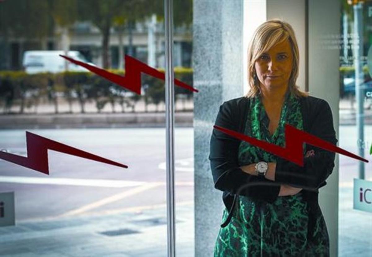Mònica Terribas, el miércoles pasado, en los estudios de Catalunya Ràdio.