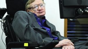 Stephen Hawking, el 30 d'abril a Londres.