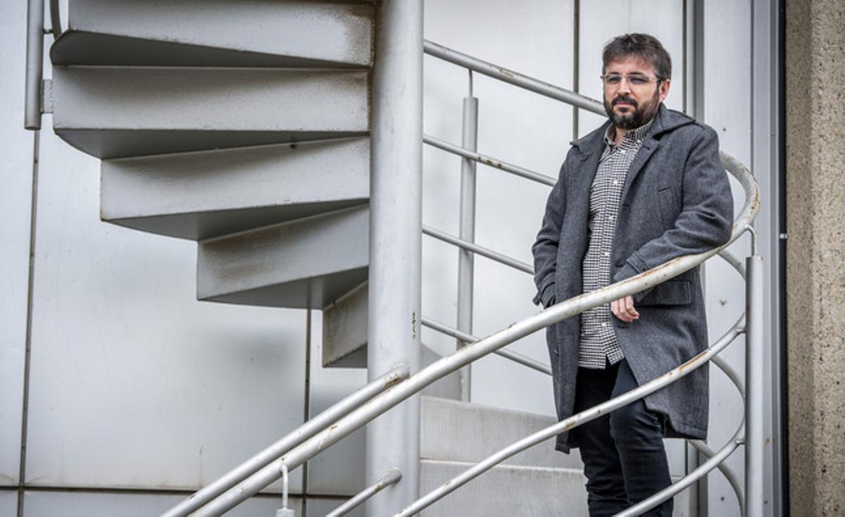 El directo y presentador de 'Salvados', Jordi Évole, el pasado mes de febrero.