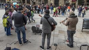 El vesper de la música al carrer