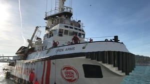 El barco 'Open Arms'.