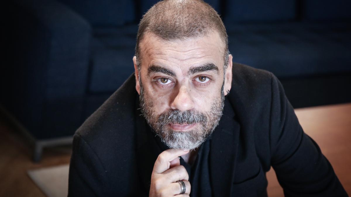 El director Ramón Lluís Bande, fotografiado este martes en Barcelona