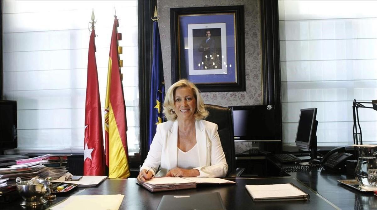 La delegada del Gobierno en Madrid,Concepcion Dancausa