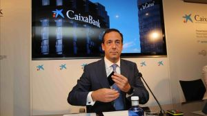 Gonzalo Gortázar, durante la rueda de prensa de presentación de resultados.