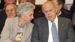 Jordi Pujol y Marta Ferrusola, positivos de covid