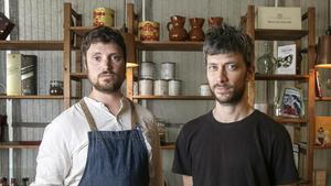 Massimo Morbi y Alessandro Zangrossi, dos de los tres socios de La Balmesina.
