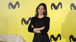 La actriz Malena Alterio en la presentación de la segunda temporada de 'Vergüenza'.