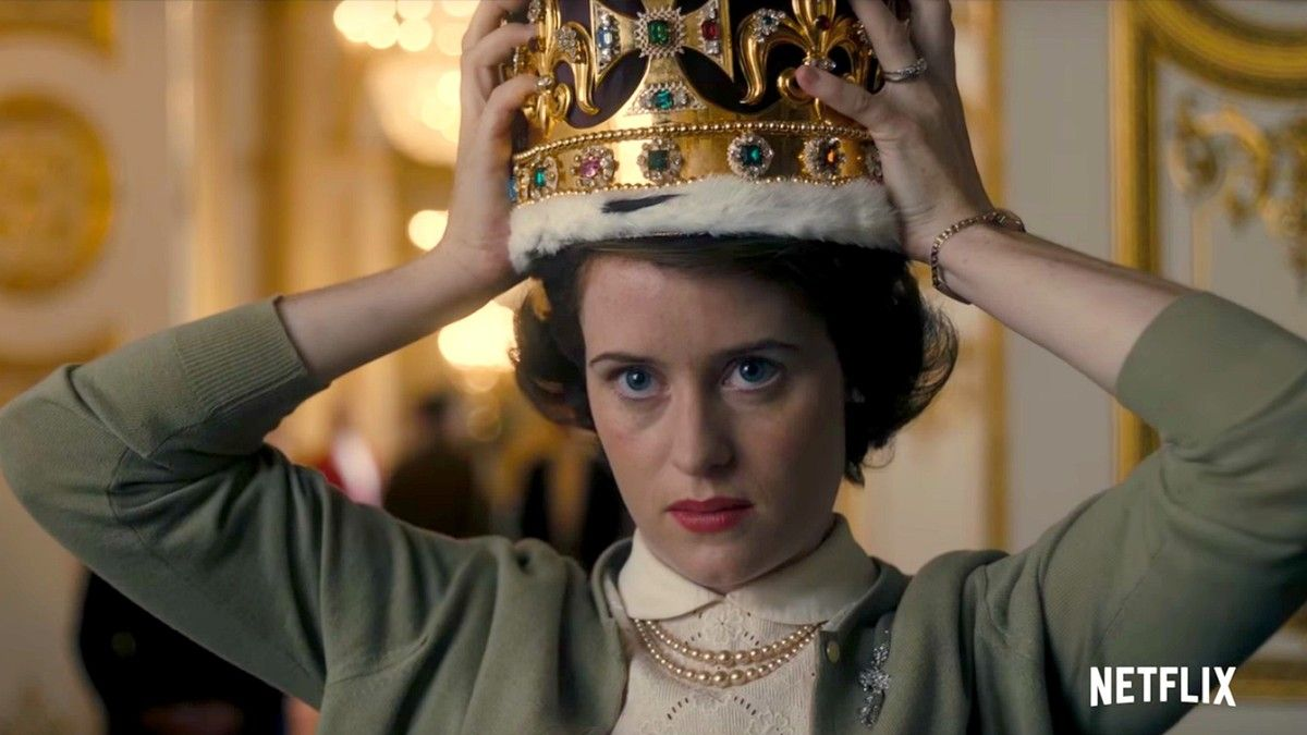 La actriz Claire Foy, en la serie 'The Crown'.