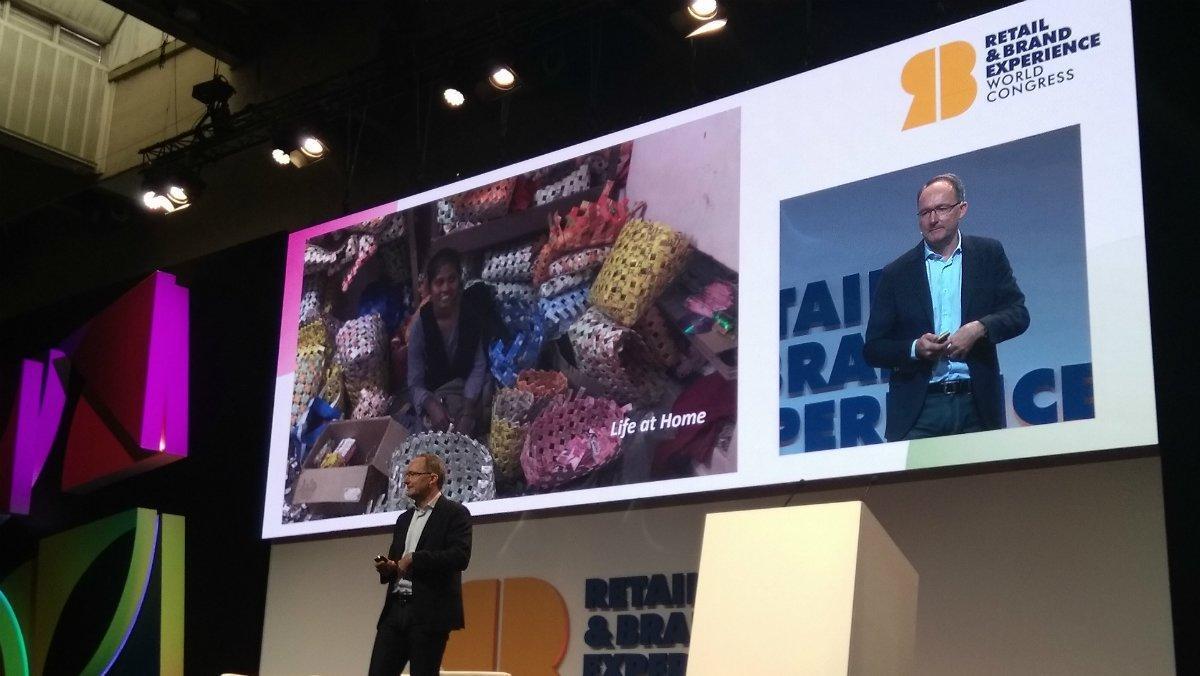 Juvencio Maeztu, CEO de Ikea, en el Congreso Retail & Brands Experience de Barcelona.