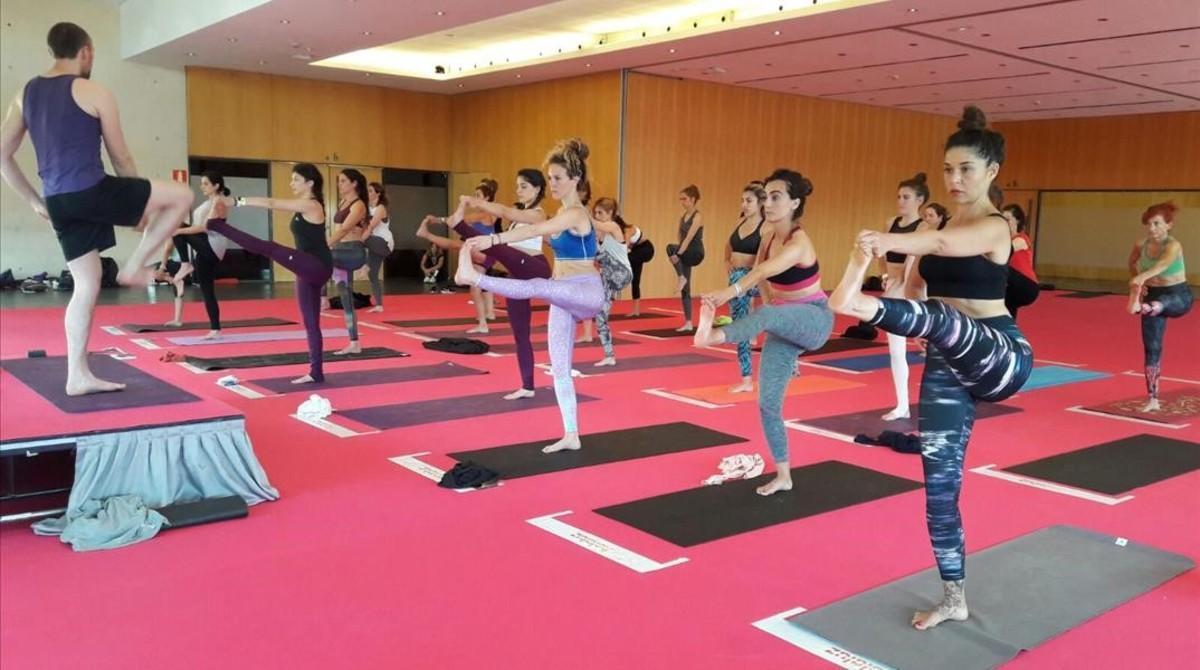 Congreso de Yoga en Barcelona.
