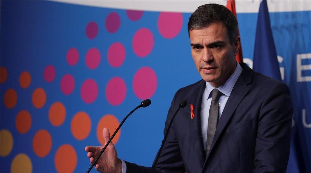 Pedro Sánchez, el pasado sábado en la Cumbre del G-20, en Buenos Aires.