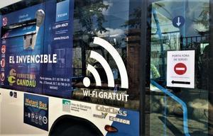 Un vehículo del Mataró Bus.