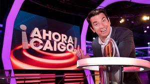 El presentador celebra el programa 1.000 d'¡Ahora caigo!
