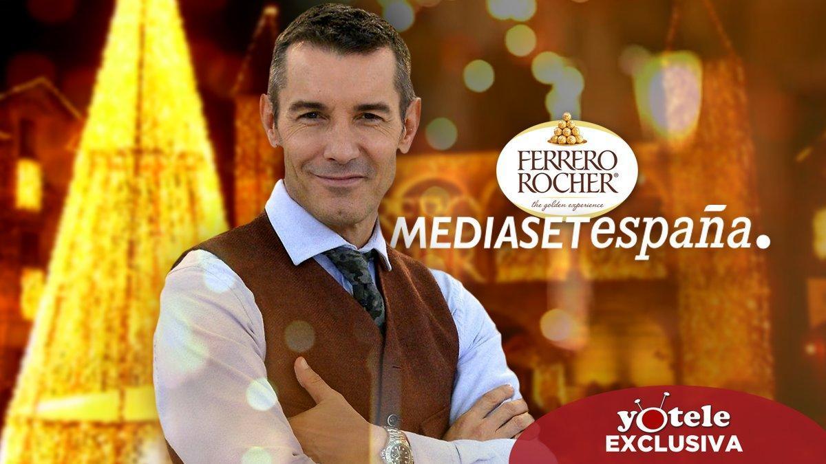 Mediaset emitirá sus Campanadas con Jesús Vázquez desde el pueblo que gane el concurso de Ferrero Rocher