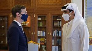 Kushner viatja a Qatar i es reuneix amb l'emir en una visita sorpresa