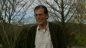 Julen Madariaga, en su caserío de Ainhoa, en el País Vasco francés, en el 2006.