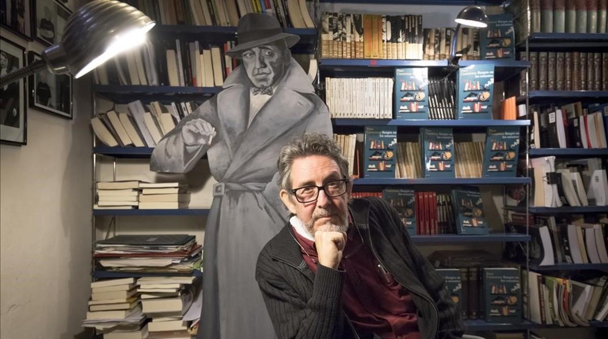 Paco Camarasa, en el local de Negra y Criminal.