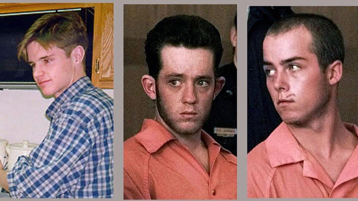 Matthew Shepard, izquierda, y sus asesinos, condenados a cadena perpetua.