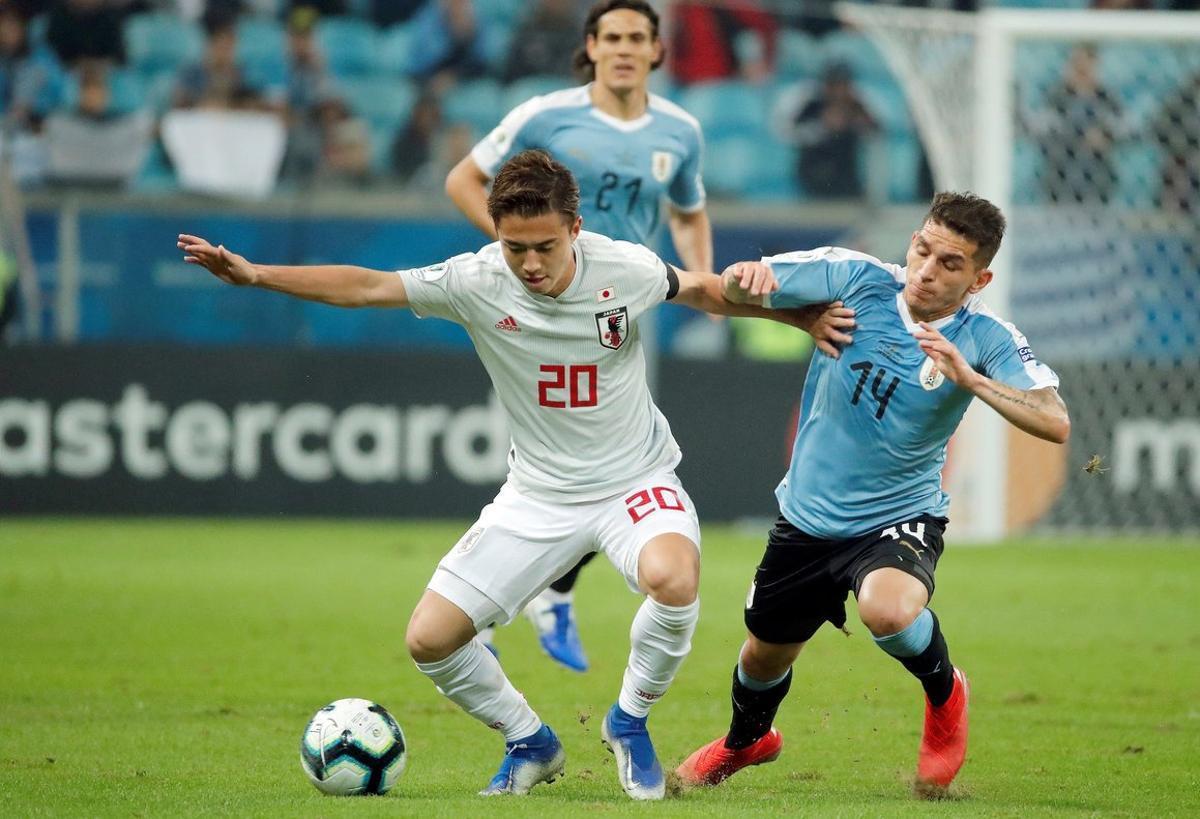 La selección de Japón estuvo dos veces arriba en el marcador, pero no contaban con la garra uruguaya.
