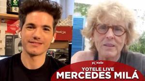 YOTELE Live | Mercedes Milá, en directe amb Ricky García a Instagram a partir de les 13:00 hores
