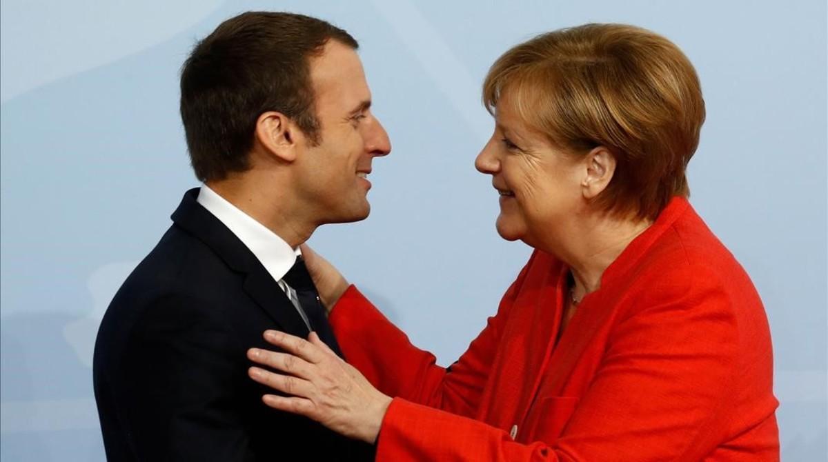 El presidenteEmmanuel Macron a su llegada al G20.