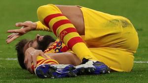 Les llàgrimes d'un Piqué destrossat