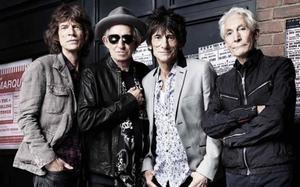 De izquierda a derecha, Mick Jagger, Keith Richards, Ronnie Wood y Charlie WattsRolling.