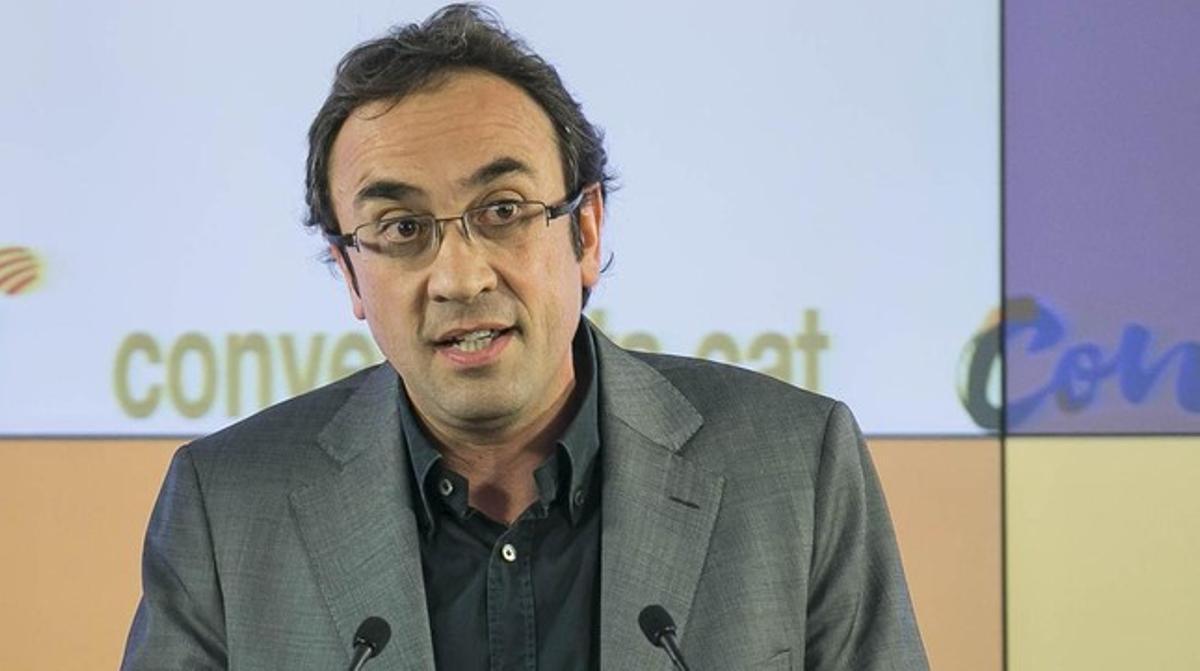 El 'conseller'Josep Rull.