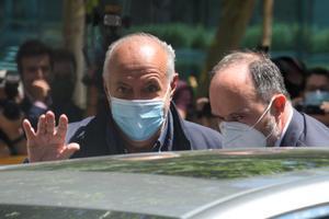 José Luis Moreno sale de la Audiencia Nacional, tras quedar en libertad, el pasado 1 de julio.